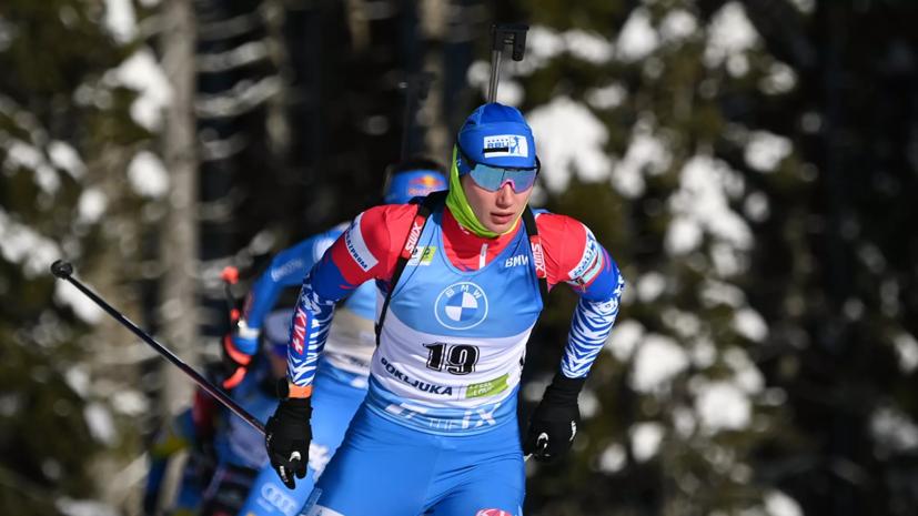 Казакевич выиграла спринт на летнем чемпионате России по биатлону
