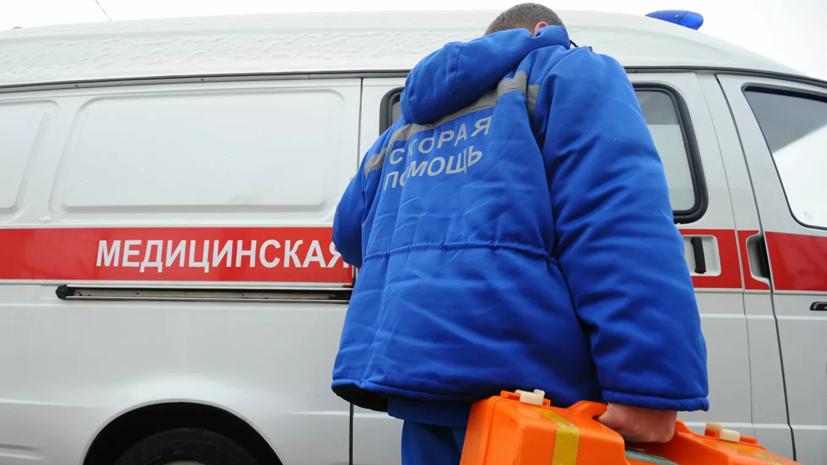 При взрыве газа в доме в Ростове-на-Дону пострадал мужчина