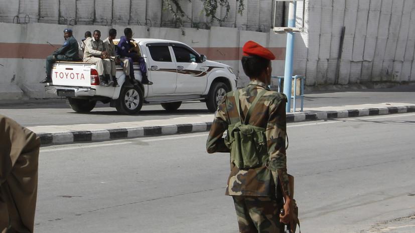 При взрыве в Могадишо погибли восемь человек