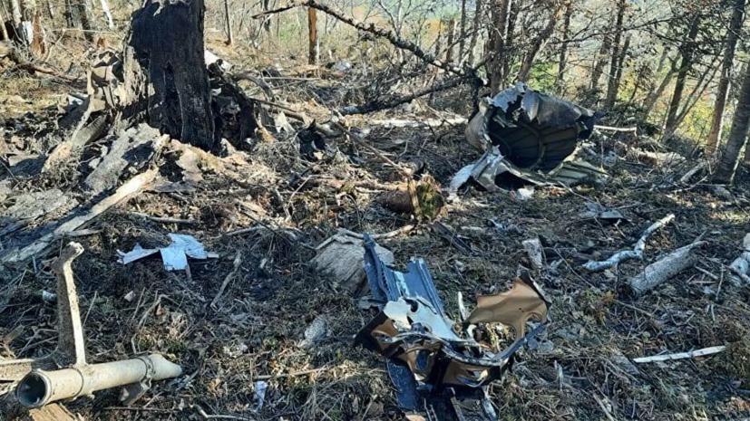 На месте крушения Ан-26 в Хабаровском крае нашли бортовые самописцы