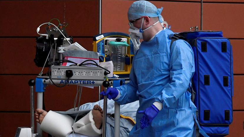 В Британии за сутки выявили более 31 тысячи случаев коронавируса