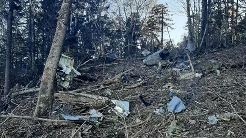 Криминалисты и специалисты МАК прибыли к месту крушения Ан-26 в Хабаровском крае