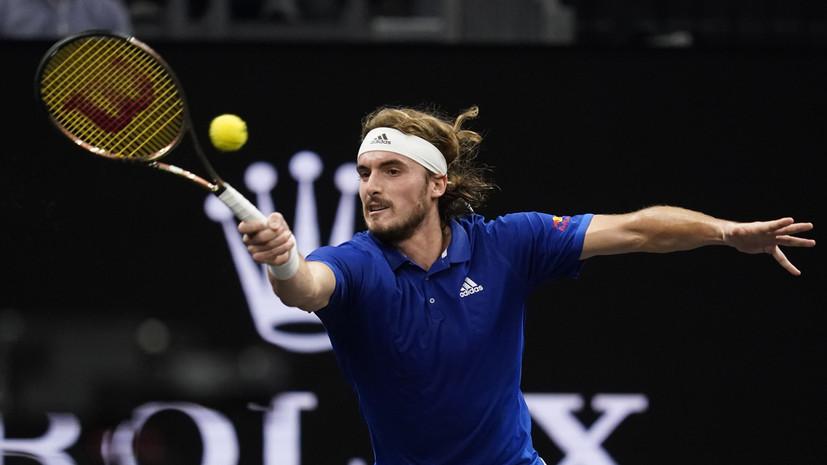 Циципас назвал Рублёва самым весёлым теннисистом на Кубке Лэйвера