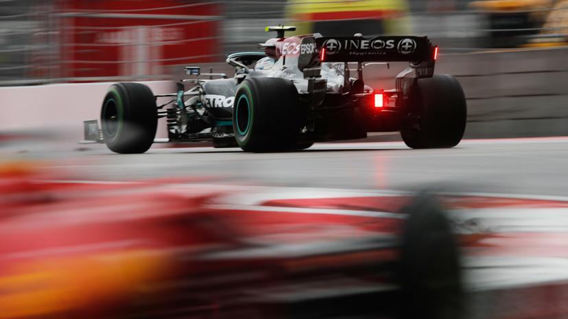 Боттас будет стартовать с конца пелотона на Гран-при России из-за замены силовой установки