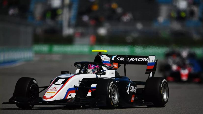 Смоляр завершил сезон «Формулы-3» на шестом месте в общем зачёте