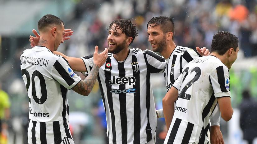«Ювентус» победил «Сампдорию» в матче Серии А
