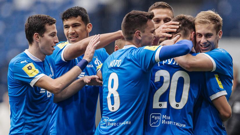 Степашин: «Динамо» ещё рано биться за первое место в РПЛ