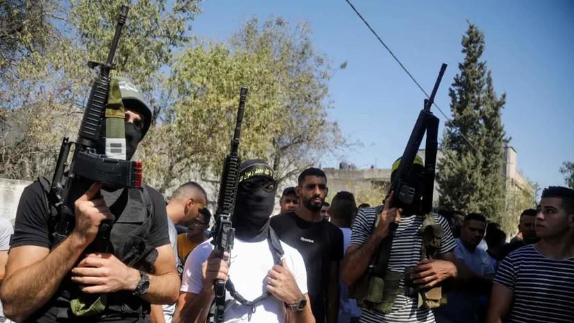 JP: пять палестинцев погибли в ходе операции израильских сил безопасности