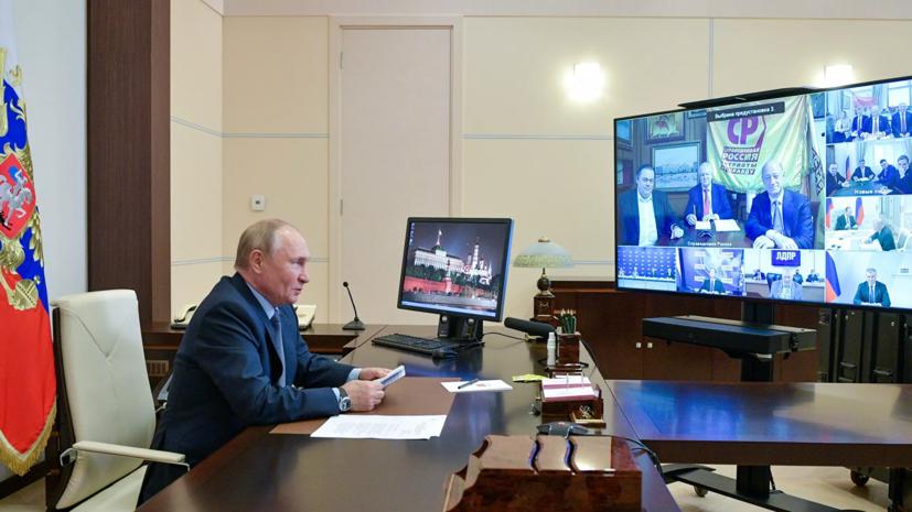 Путин отметил мрачное чувство юмора Жириновского, пошутившего про арест