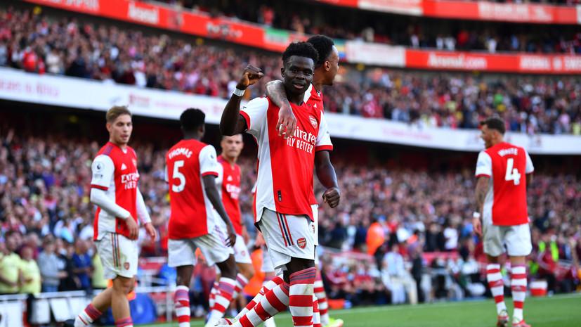«Арсенал» добыл третью подряд победу в АПЛ, обыграв «Тоттенхэм»
