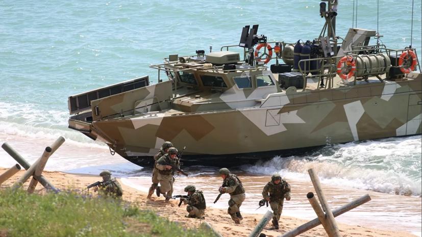 В Крыму начались масштабные учения десантных войск