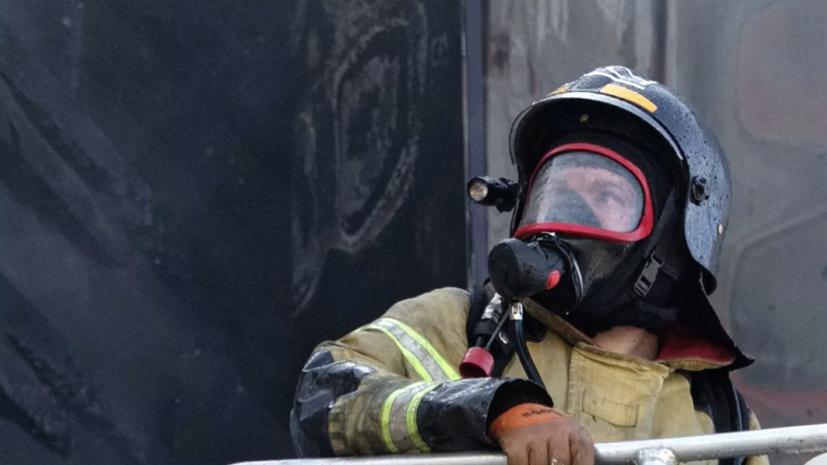 Один человек погиб при пожаре в больнице для пациентов с COVID-19 под Воронежем