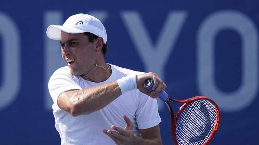 Карацев поднялся на 24-ю строчку в рейтинге ATP