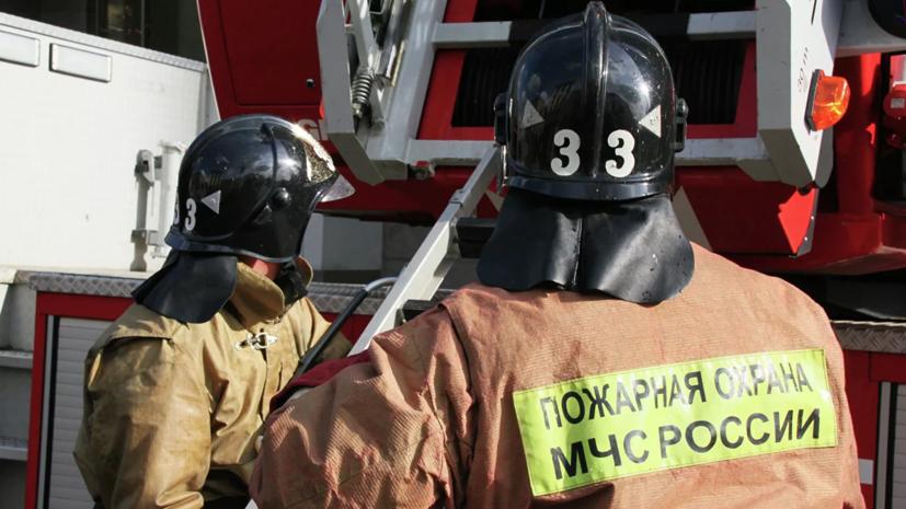 По факту пожара в больнице под Воронежем, где погибла пациентка, проводится проверка