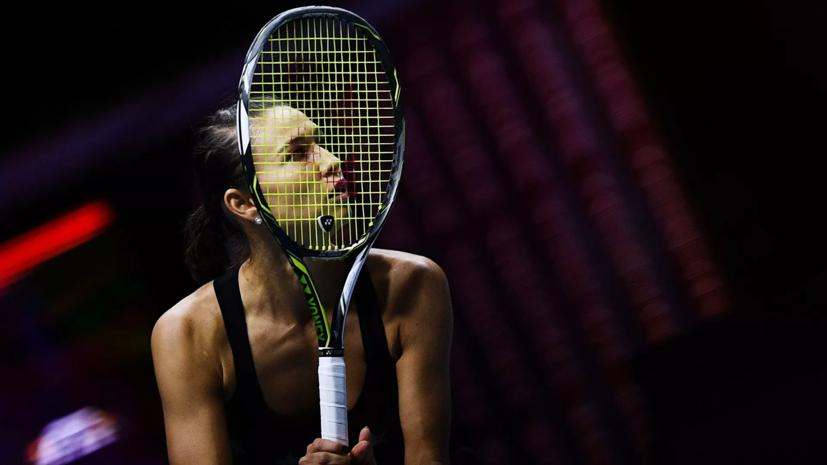 Российская теннисистка Дьяченко снялась по ходу матча против украинки Цуренко