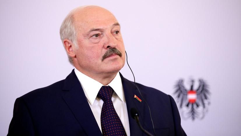 Лукашенко заявил о гуманитарной катастрофена границе
