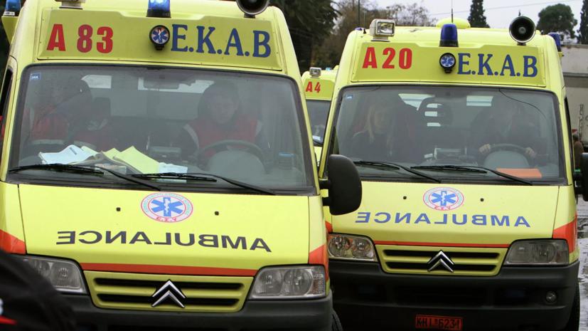 В результате землетрясения на Крите погиб один человек