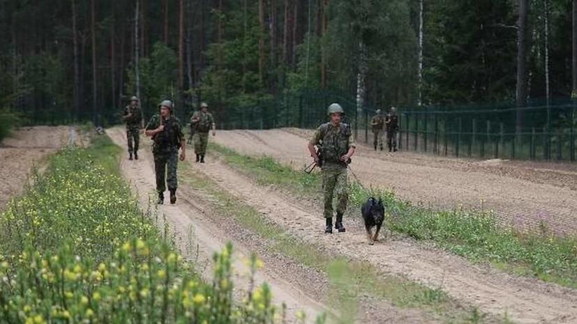 Белоруссия продолжит усиливать охрану границы с Украиной