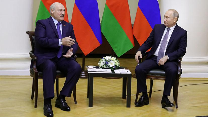 В Кремле рассказали об обсуждении Путиным и Лукашенко расширения НАТО на Украину