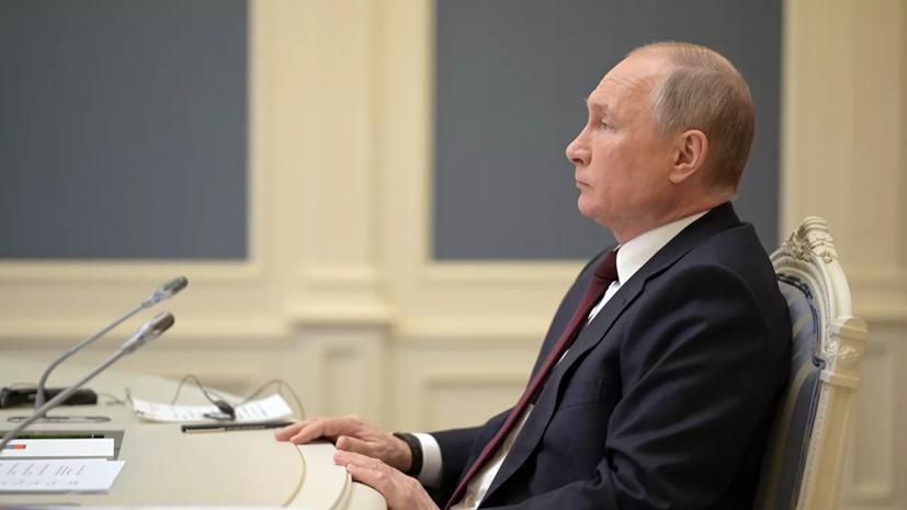 Путин призвал правительство плотно работать со всеми фракциями Госдумы