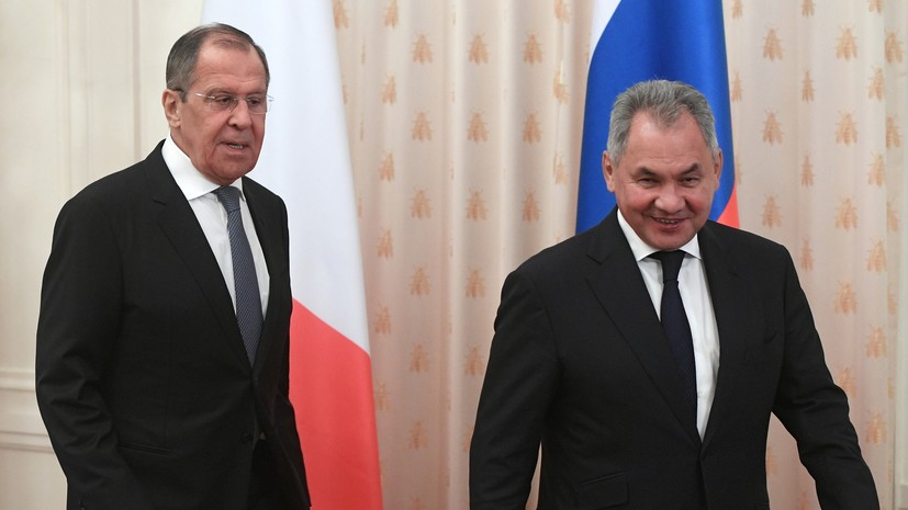 В Кремле заявили, что Лавров и Шойгу не идут в Госдуму