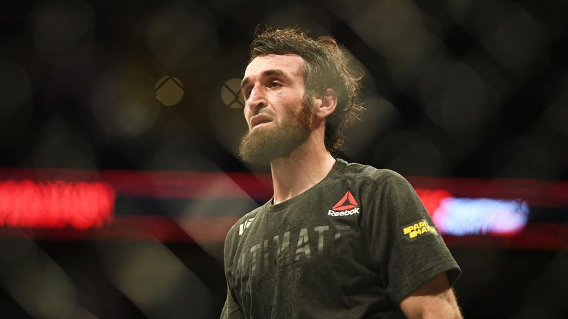 Тренер Магомедшарипова сообщил, что боец возвращается в полулёгкий вес в UFC