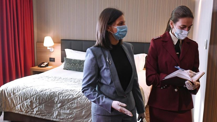 Загруженность гостиниц в России в первом полугодии выросла на 90%