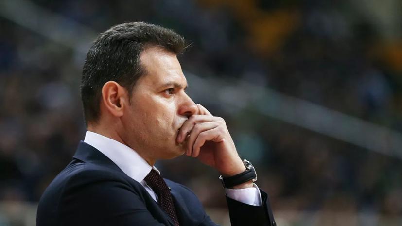 Источник: Итудис будет возглавлять ЦСКА и сборную Греции по баскетболу