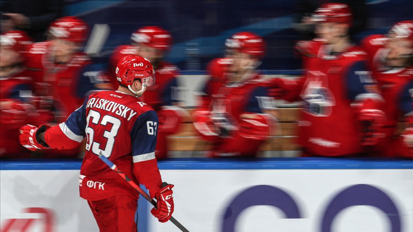 «Локомотив» обыграл «Авангард» в матче КХЛ