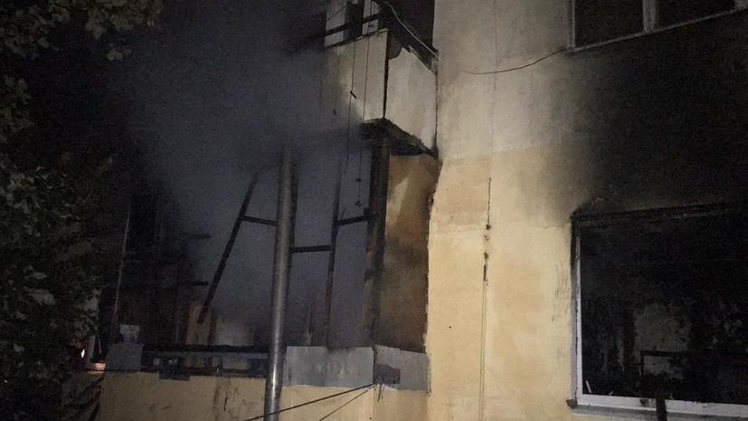 В Самарской области в результате пожара погибли трое детей