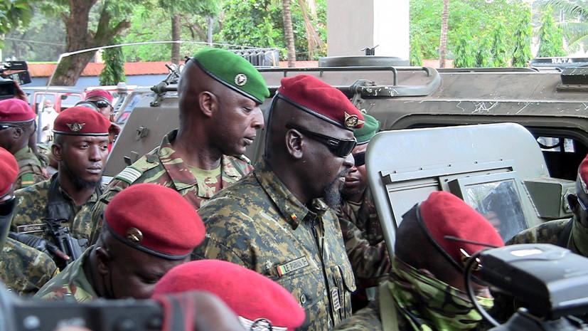 В Гвинее мятежники объявили о хартии переходного периода