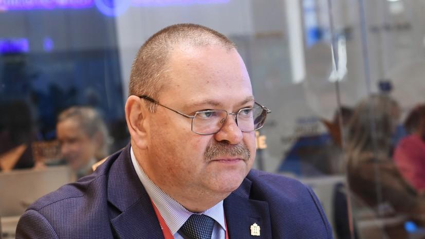 Мельниченко вступит в должность главы Пензенской области