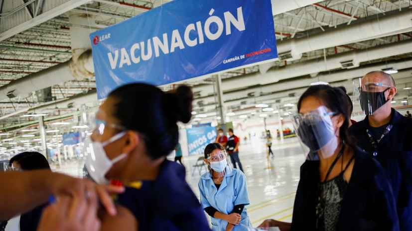 В Мексике число сделанных прививок от COVID-19 составило порядка 100 млн