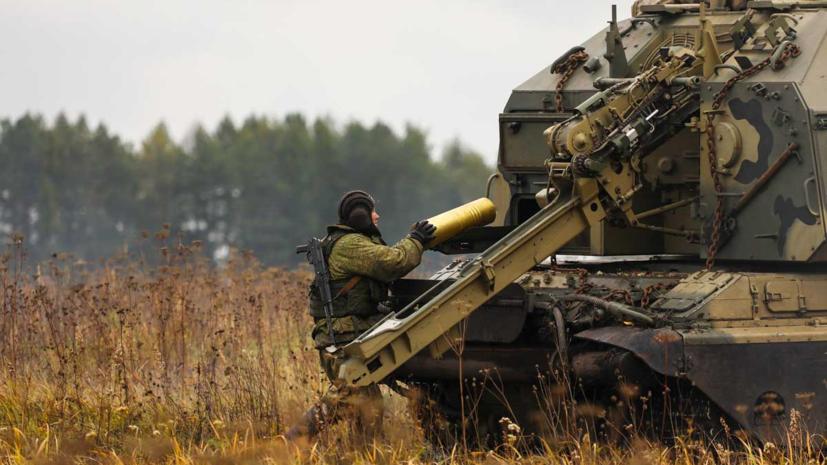 Артиллеристы ЦВО провели ночные учения в Сибири