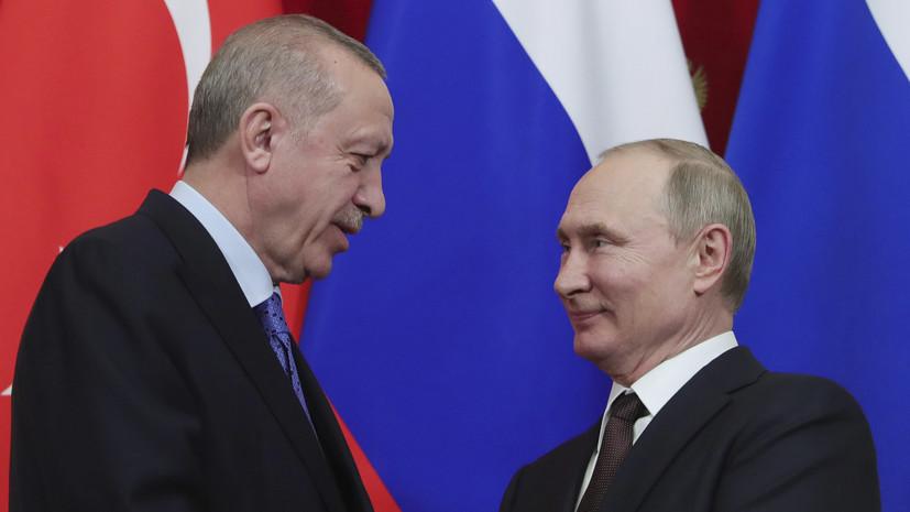 В Кремле рассказали о планах переговоров Путина и Эрдогана