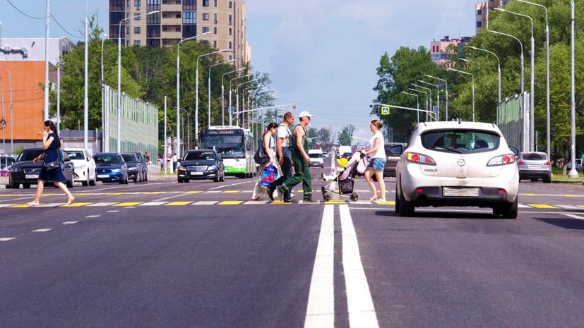В ГИБДД заявили, что каждое третье ДТП в Подмосковье связано с наездом на пешехода