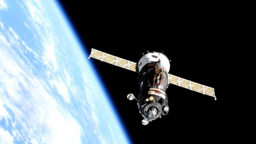 Корабль «Ю.А. Гагарин» отстыковался от МКС