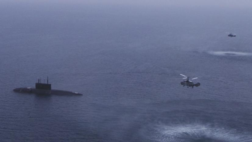 Экипажи двух подлодок ЧФ отработали ракетные удары по кораблям условного противника
