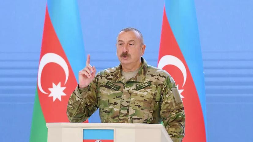 Алиев не исключил встречи с Пашиняном под эгидой Минской группы ОБСЕ