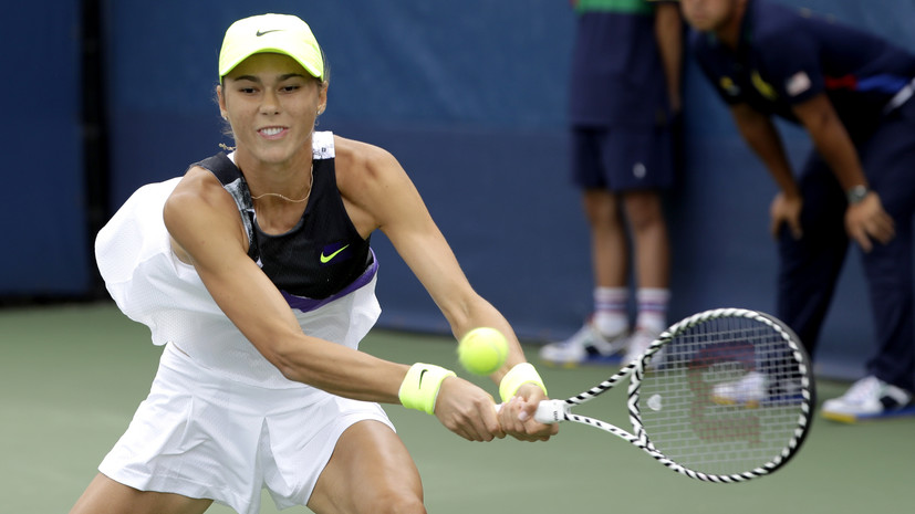 Вихлянцева проиграла Кристиан в первом круге турнира WTA в Нур-Султане