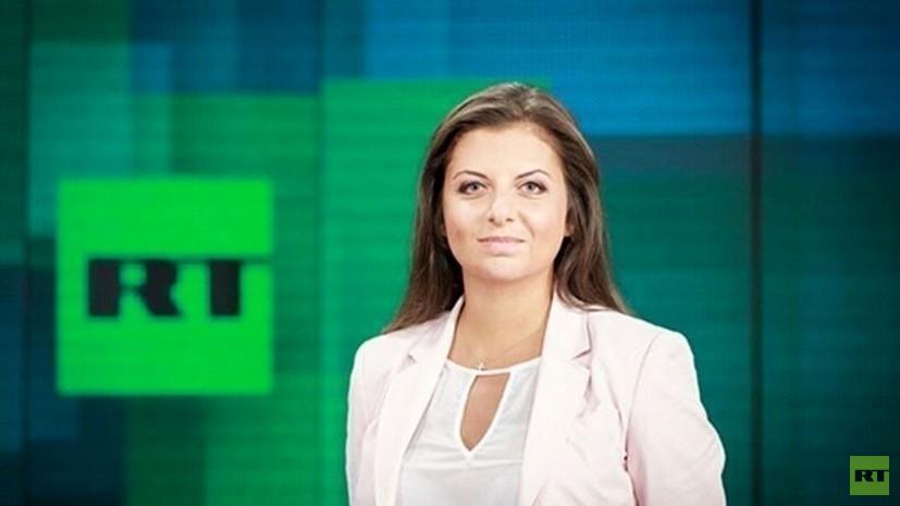Симоньян об удалении YouTube-канала RT DE: это медийная война, объявленная Германией России