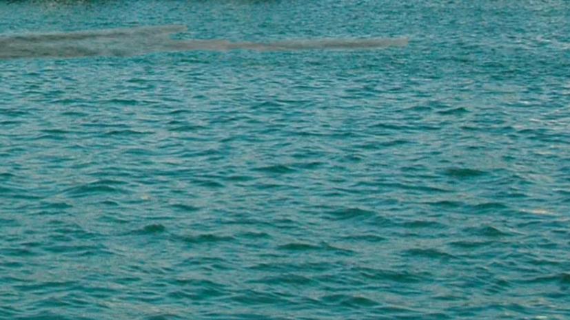 В порту Темрюка произошёл разлив нефтепродуктов