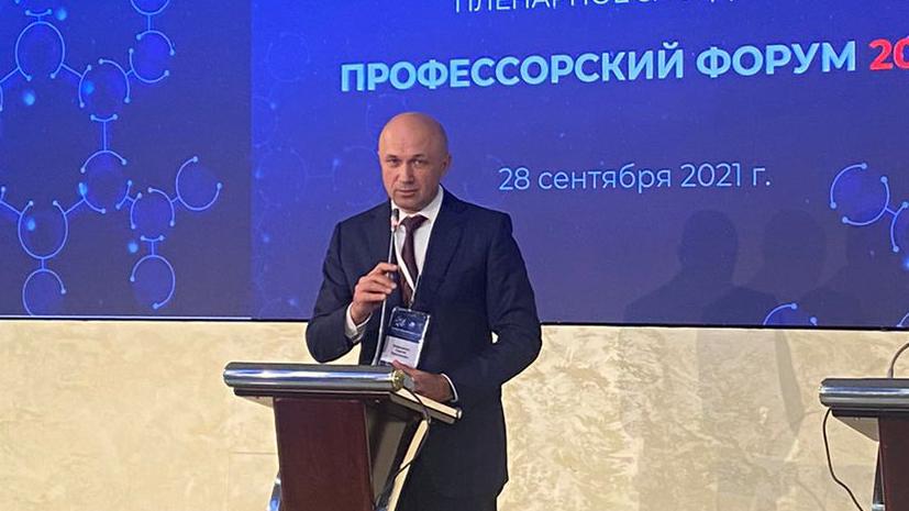Ректору КубГМУ вручили премию «Ректор года — 2021»