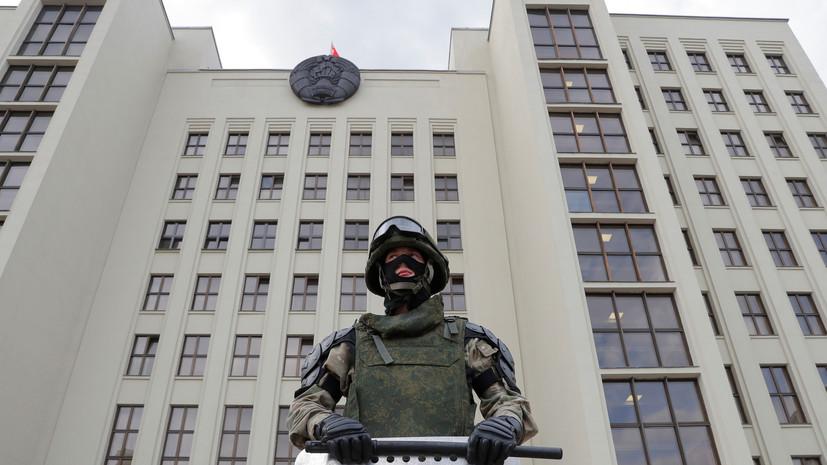 В Минске сотрудник КГБ получил смертельное ранение