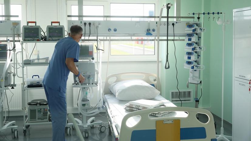 В Волгоградской области открыли новый госпиталь для пациентов с COVID-19