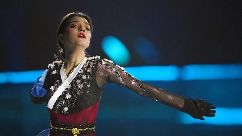Медведева обратилась к болельщикам после падения на «Ледниковом периоде»