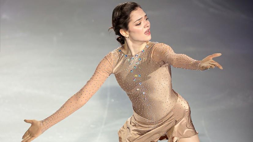 Медведева призналась, что боялась выступать в «Ледниковом периоде» с Милохиным