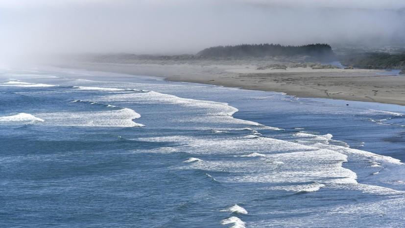 У берегов Чили произошло землетрясение магнитудой 4,4