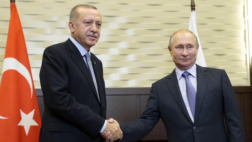 Песков: Путин и Эрдоган не будут обсуждать на переговорах Крым