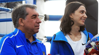 Геннадий Габрилян и Мария Ласицкене